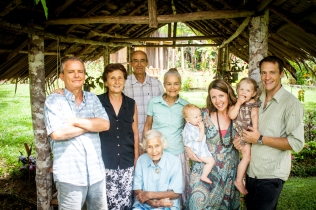 Four generations at Kapuna.