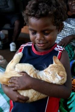 Little boy in Darwin.