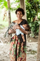 Bamio mum. One in seven women die in childbirth in remote PNG.