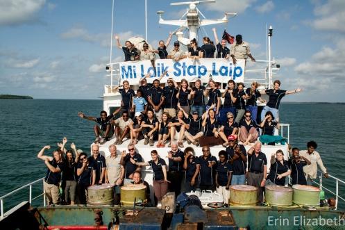 Life on a ship.